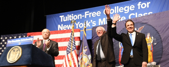 govcuomo_sanders_tuitionfree
